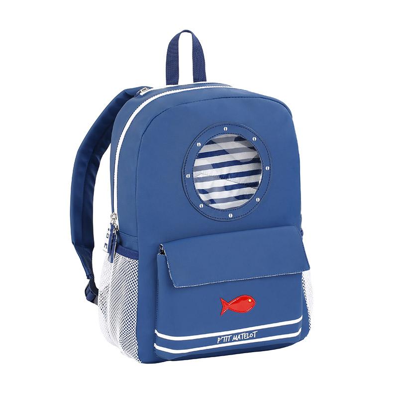 sac à dos maternelle ptit matelot bleu